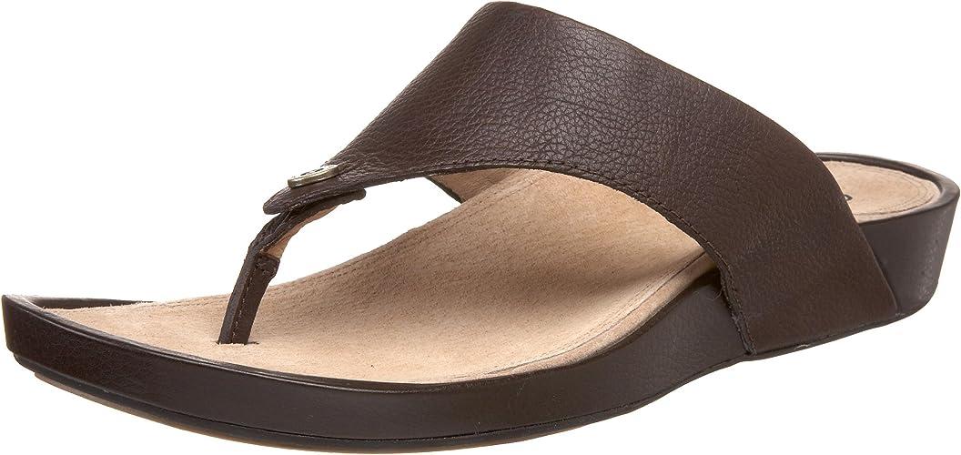 REEF DREAMS II Women/'s Flip Flops Brown Cushion Sandals Comfort Thong Shoes