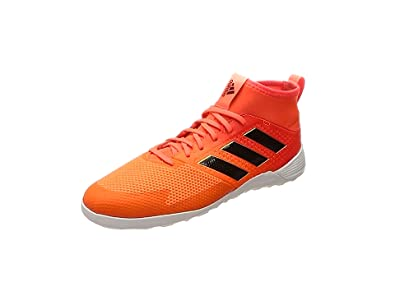 adidas Unisex-Kinder Ace Tango 17.3 in Futsalschuhe, Mehrfarbig (Solar Red/Core Black/Solar Orange), 29 EU