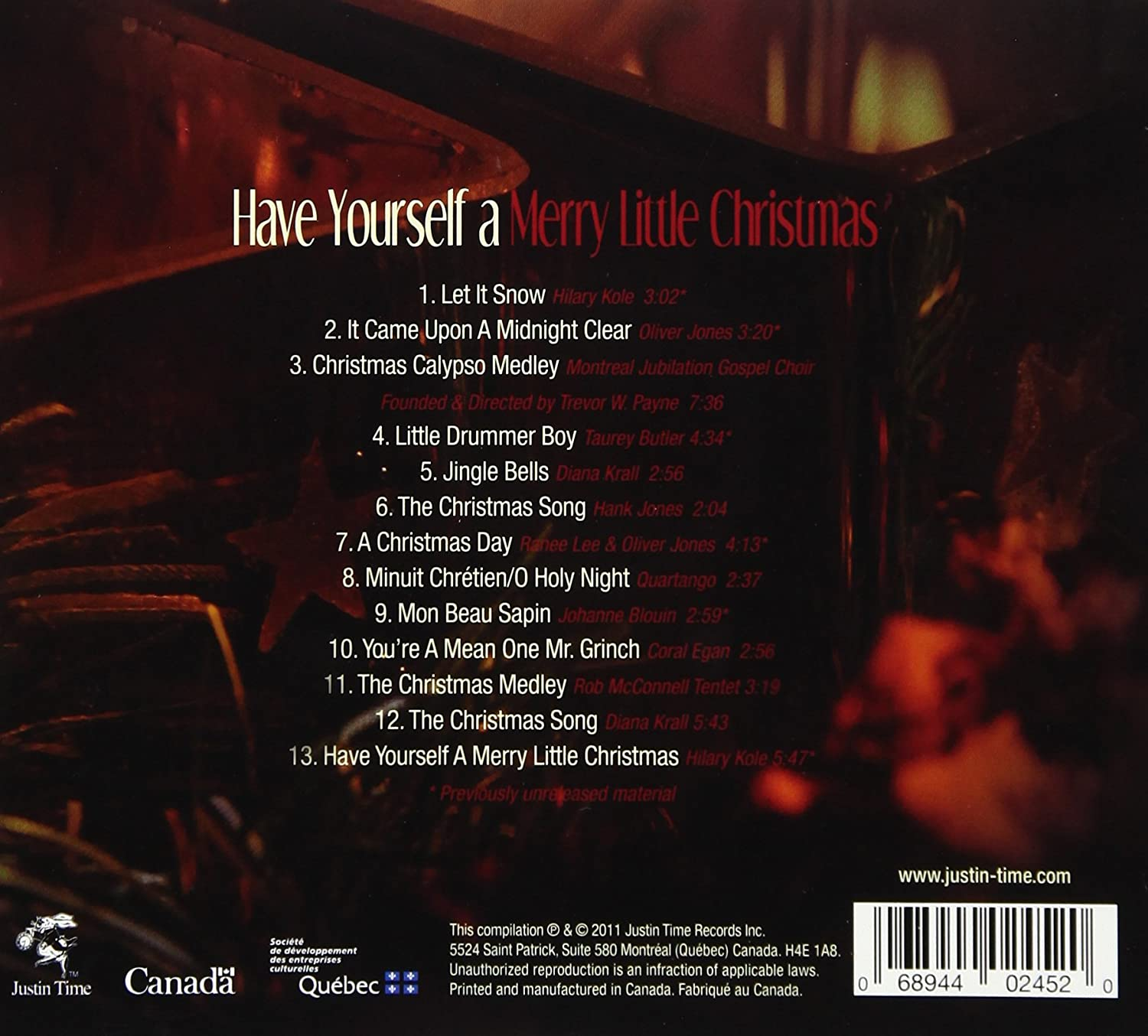Merry Little Christmas 2011.Have Yourself A Merry Little Christmas Have Yourself A