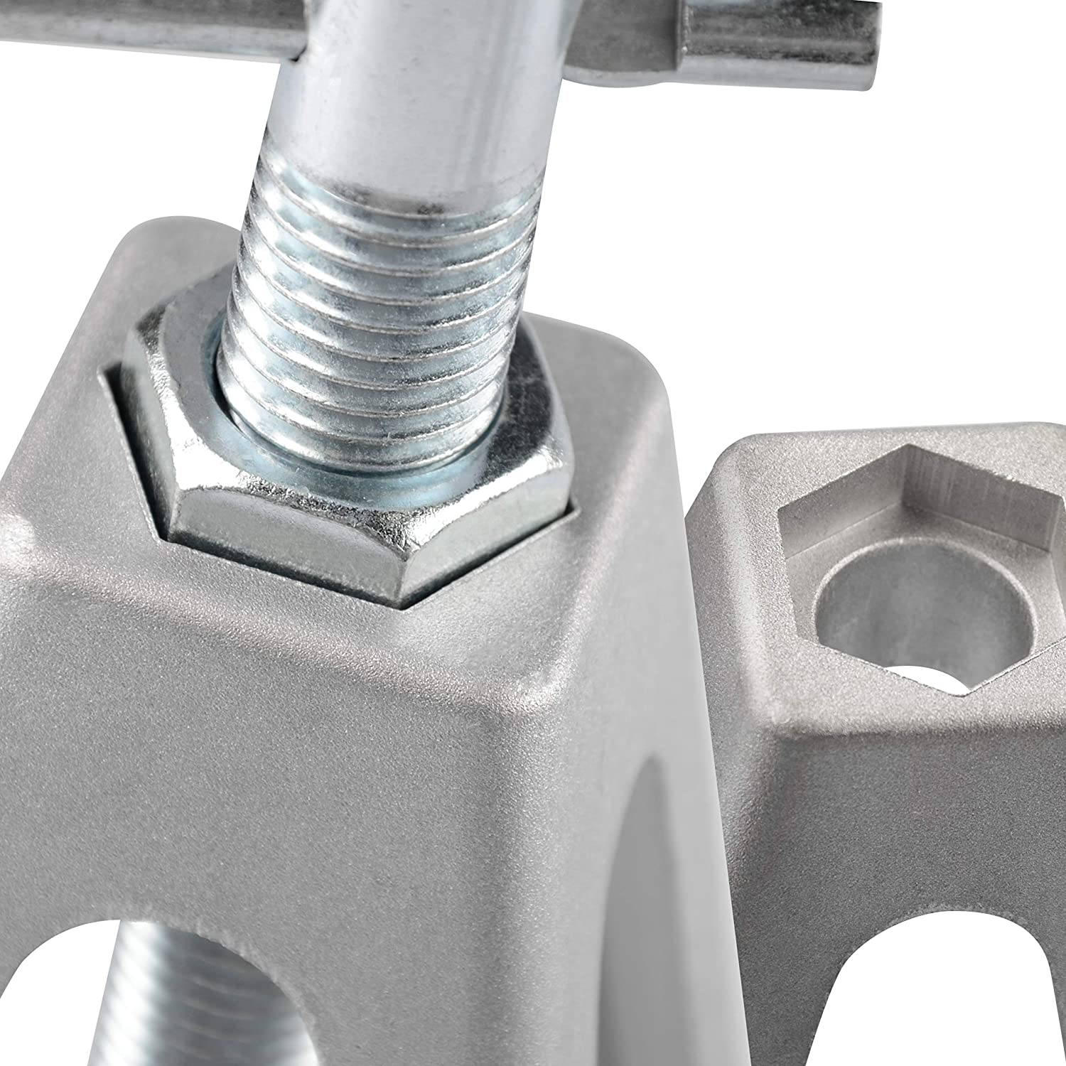Adjustable from 11.5 inches to 17.5 inches RVGUARD RV//Trailer Stablizing Jacks 4 Packs