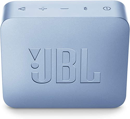 JBL GO2 Waterproof Ultra Portable Bluetooth Speaker – Cyan – JBLGO2CYANAM