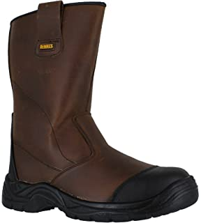 f666c5525d4 Dunlop Men's Rigger Safety Work Boots Waterproof Boots Safety Shoes ...