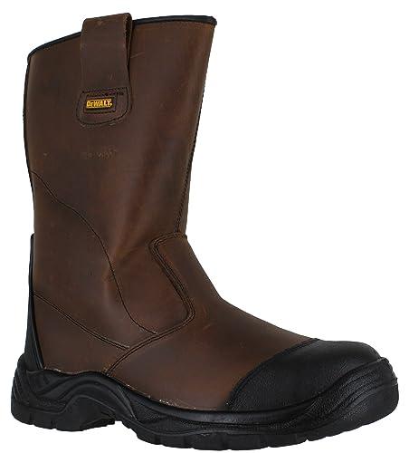 076411c1a64 DEWALT Ashland Mens S3 Safety Steel Toe/Midsole Waterproof Work Rigger Boots
