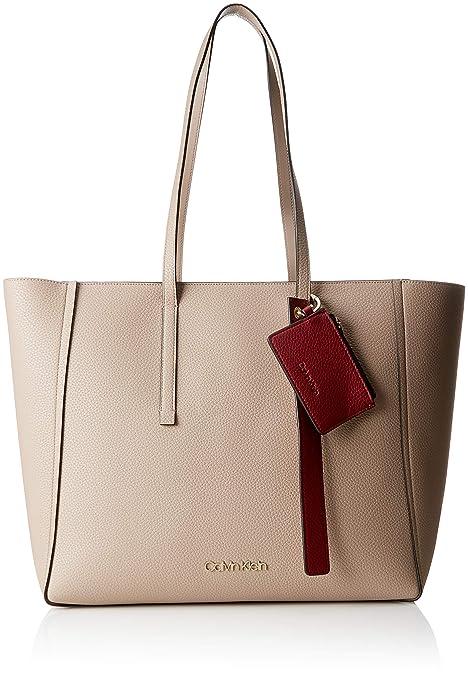 2aa3b3bfe5 Calvin Klein Jeans Ck Base Large Shopper - Borse a spalla Donna ...