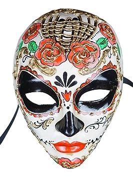 Máscara veneciana completa Volto Flor para mujer