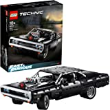LEGO 42111 Technic Fast & Furious Dom's Dodge Charger Racing Car Model, Iconic Collector's Building Set