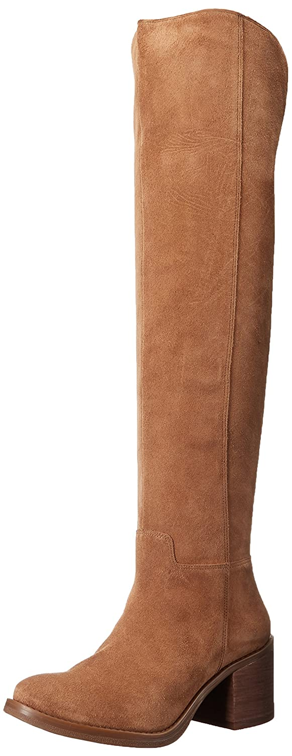 Lucky Brand Women's Ratann Riding Boot B01EKBI1GY 7.5 B(M) US|Honey