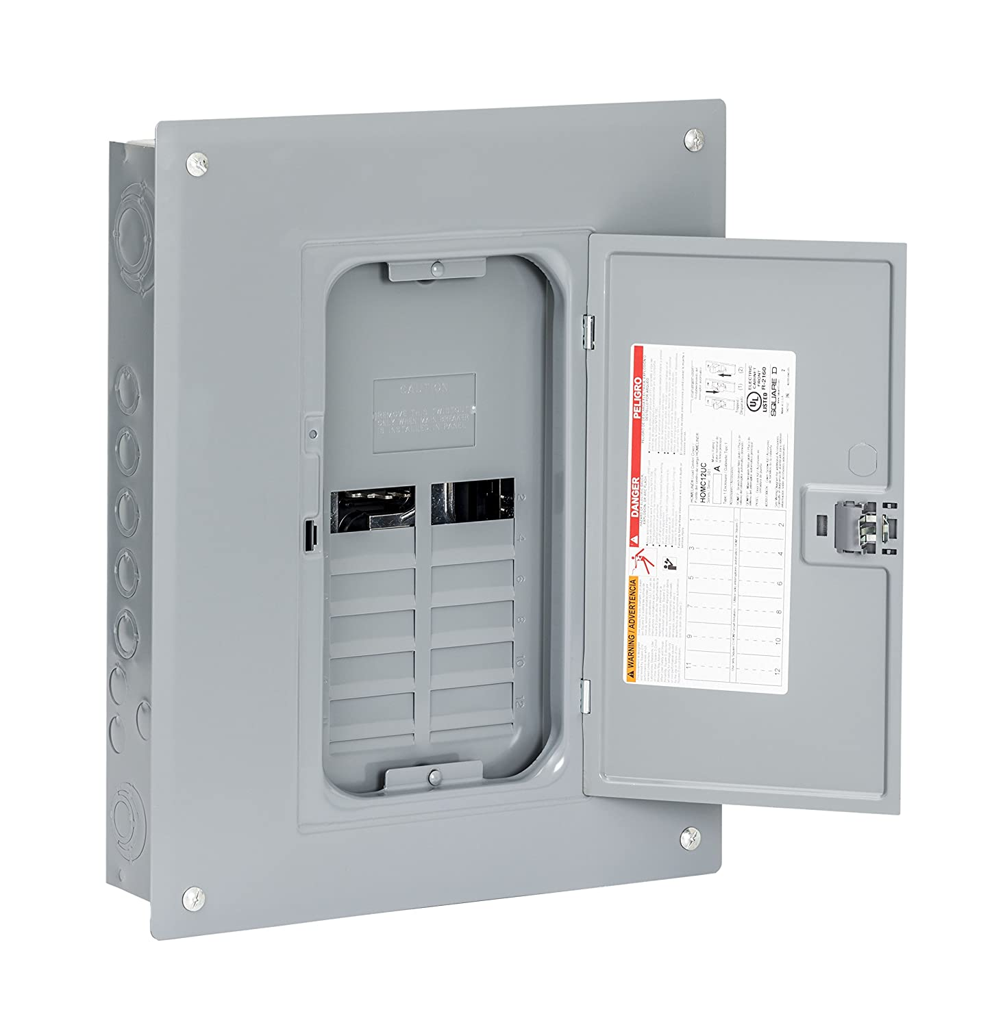Square D by Schneider Electric HOM816L125PGC Homeline 125-Amp 8 ...