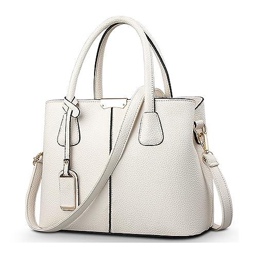 85237a3498038 Bageek Sac Cabas Femme Grand Sac Bandoulière Femme Sac a Main Noir en Cuir  Synthétique Sac shopping