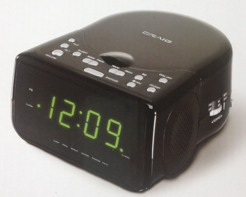 Craig Travel Alarm Clock Instructions Holliddays