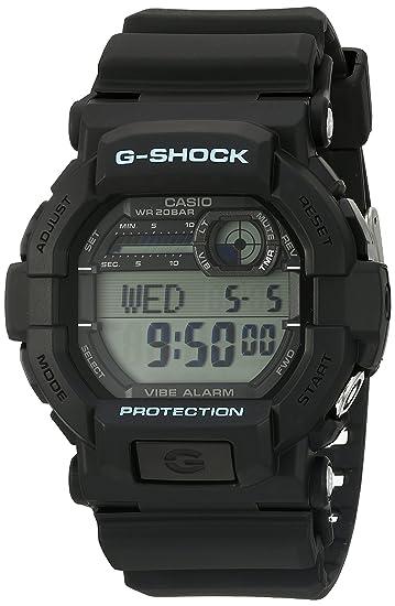 23d7f8f4e Amazon.com: Casio Men's G-Shock GD350-1C Black Resin Sport Watch ...