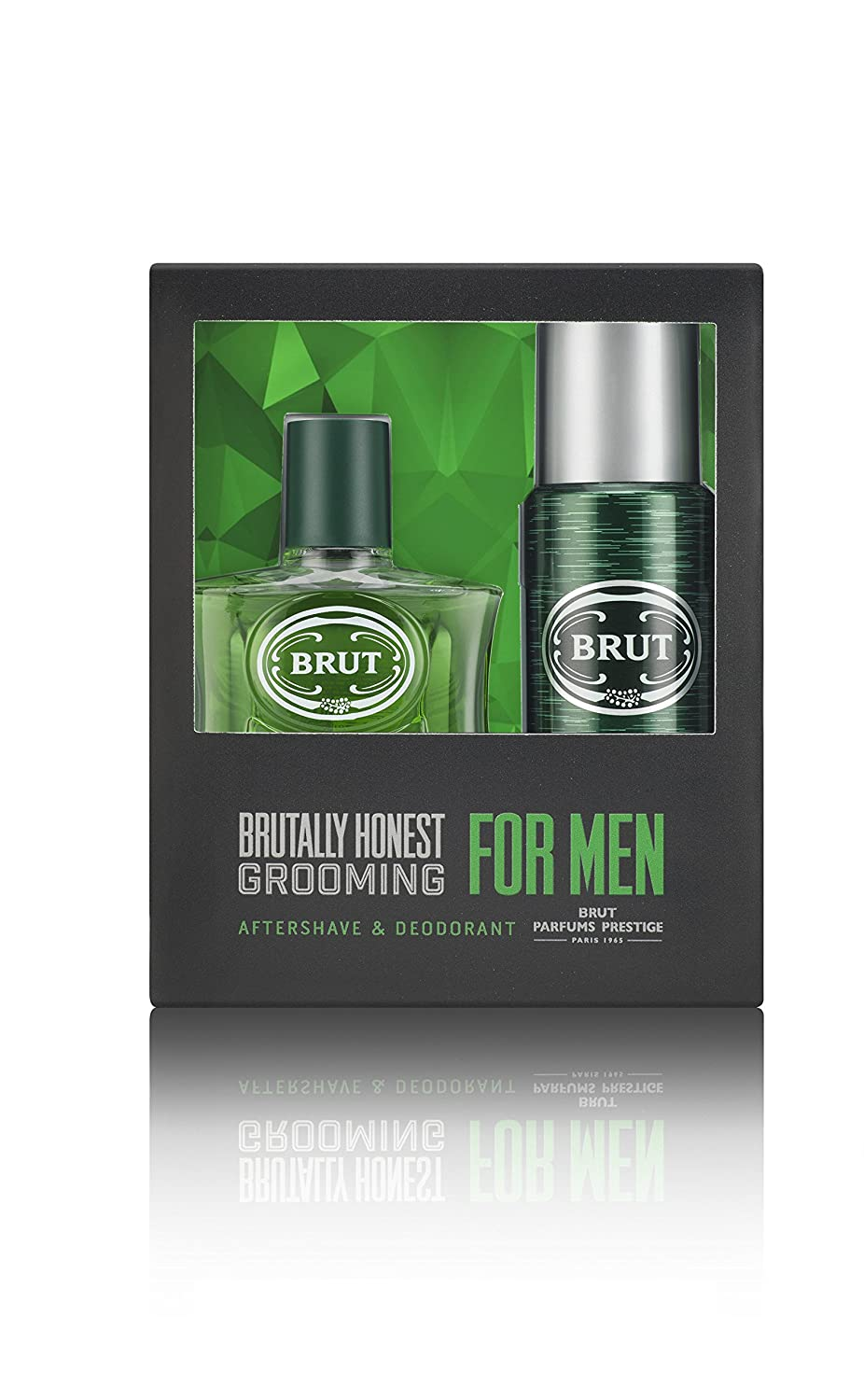 Brut, Set regalo da Uomo, include dopobarba 100 ml + deodorante spray 200 ml BRU-BRU-M-05-100-04