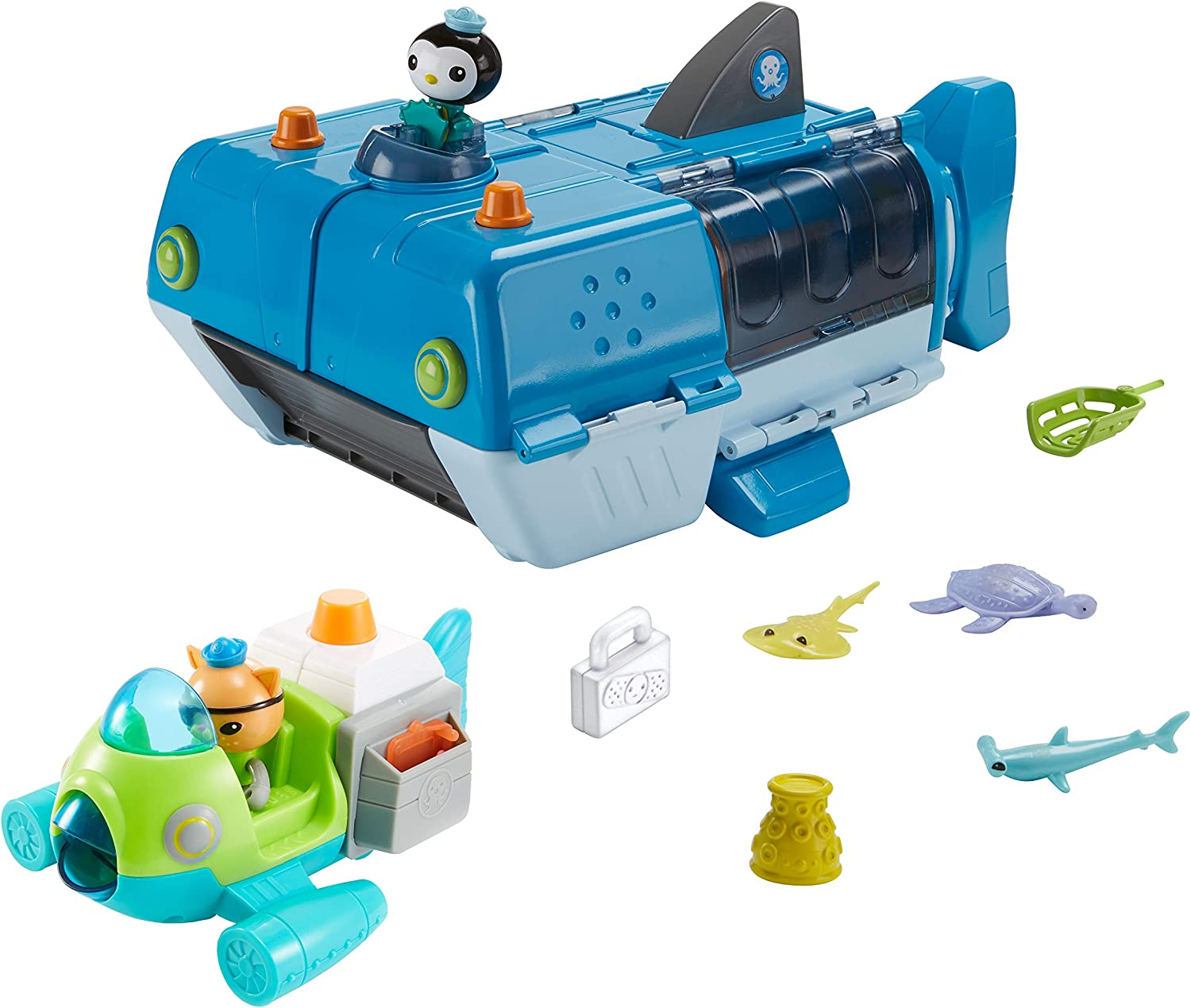 Octonauts Fisher-Price Bundle Gup-W & Gup-P [Amazon Exclusive]
