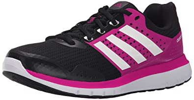 adidas Performance Women's Duramo 7 W Women's Running Shoe ,Black/White/Granite,