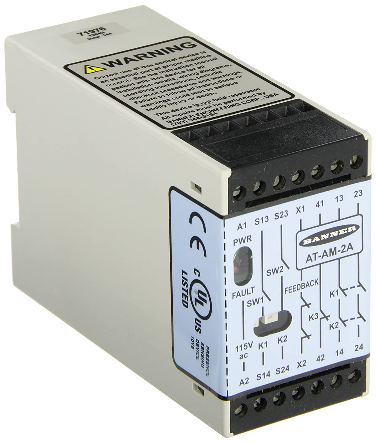 Banner at-am-2 a Optoelectronic Sensor de movimiento Touch ...