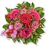 """Blumenstrauß Blumenversand """"Herzensgrüße"""" +Gratis Grußkarte+Wunschtermin+Frischhaltemittel+Geschenkverpackung"""