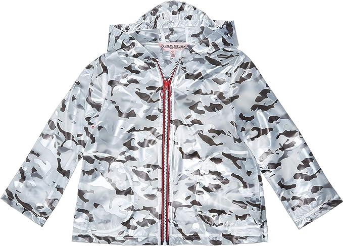 474c7614b Amazon.com: Urban Republic Kids Girl's Transparent Raincoat (Little ...