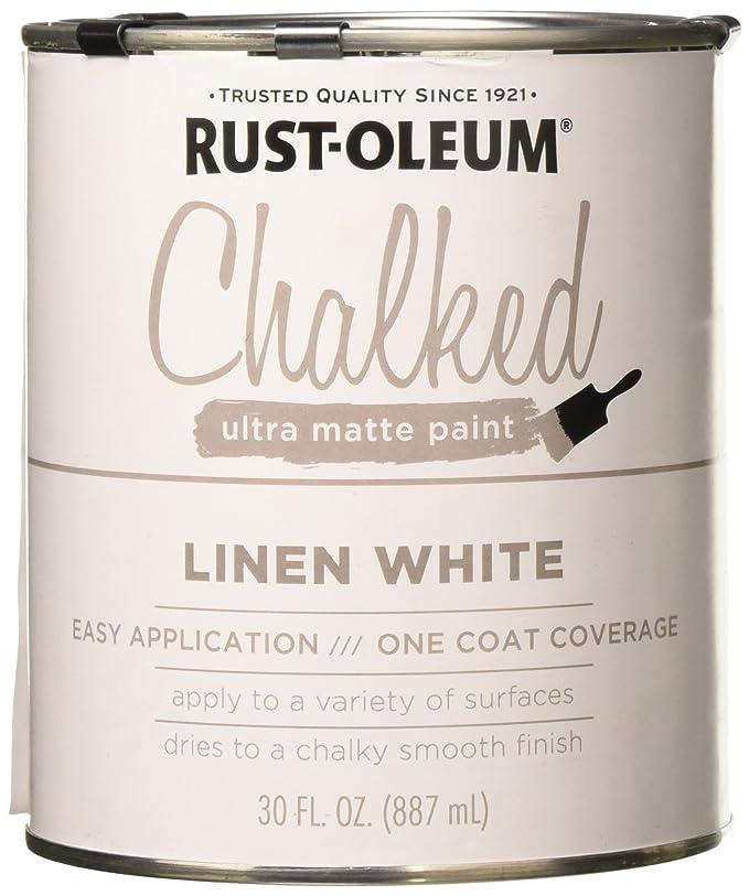 Amazon Rust Oleum 285140 Chalked Paint White 30 Oz Home