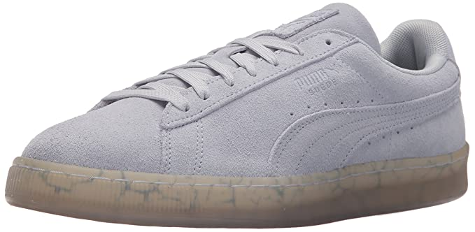 c9ef9aa36822 PUMA Men s Classic Easter Fm Suede Aruba Blue Ankle-High Fashion Sneaker -  10.5M