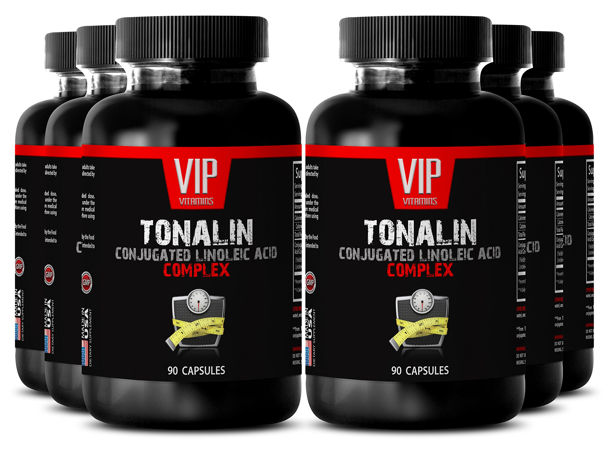 Conjugated linoleic acid oil - TONALIN Conjugated Linoleic Acid Complex - Strength booster - 6 bottles 270 Capsules