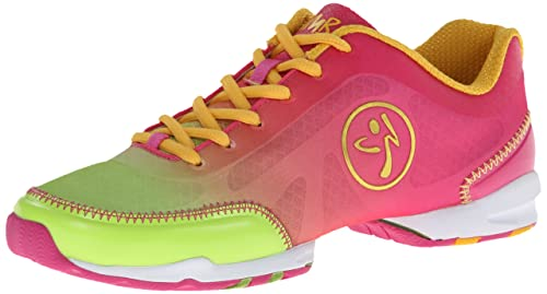 Zumba Footwear Zumba Flex Classic, Zapatillas para Mujer, Fuschia/Lime, 43 EU / 8.5 UK: Amazon.es: Zapatos y complementos