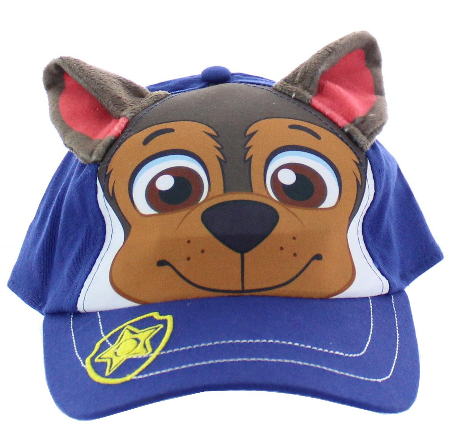 Paw Patrol Baseball cap for little boys - Chase, Marshall, Rubble (Chase)