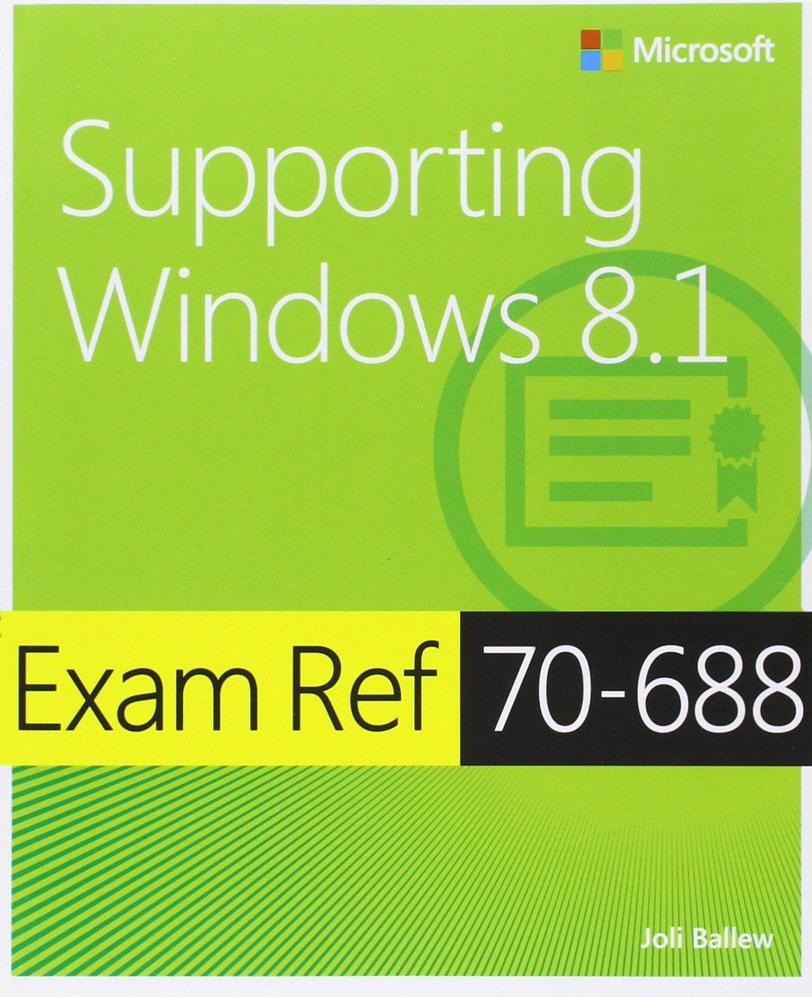 Exam ref 70 688 supporting windows 81 mcsa livros na amazon exam ref 70 688 supporting windows 81 mcsa livros na amazon brasil 9780735684737 fandeluxe Gallery