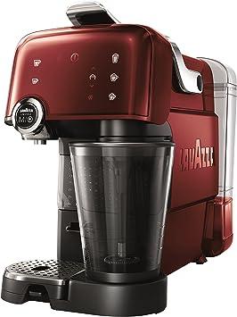 Lavazza LM7000 Fantasia con espumador de leche integrado, rojo: Amazon.es: Hogar