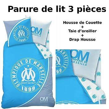 Om Parure De Lit 3pcs Housse De Couette 140x200 Taie D