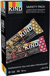product image for Kind Healthy Snacks Peanut Butter Dark Chocolate & Dark Chocolate Cherry Cashew Bar Variety Pack, 18 pk.( 1 BOX )