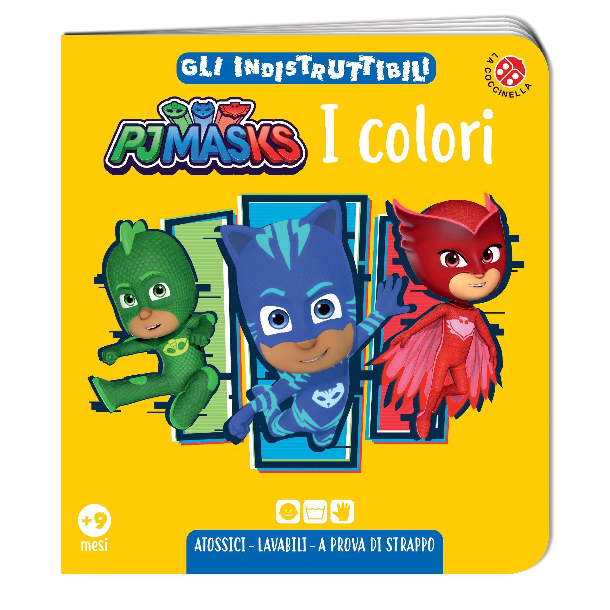 I colori. Pj Masks. Gli indistruttibili. Ediz. a colori ...