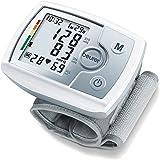 Beurer BC31 Tensiómetro muñeca, para la medición de la presión arterial, pantalla LCD,
