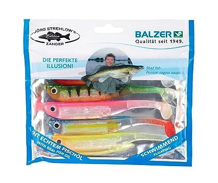 Balzer Kauli Gummifisch 12cm schwimmend 5 Stück 11 Farben !