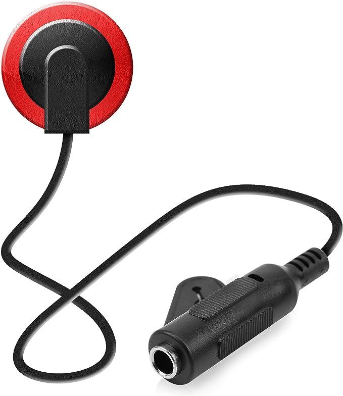 Doolland Self-adhesive Pickups Piezo Transducer 3 in 1 Microphone Contact for Kalimba Mbira Thumb Piano