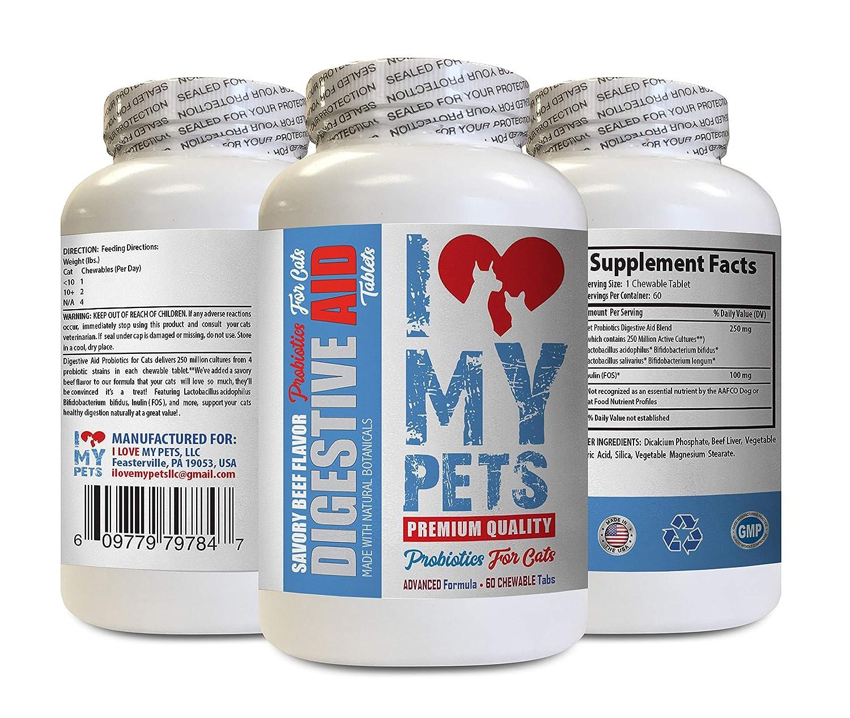 Amazon.com: I Love MY PETS LLC - Probiótico de gato para el ...