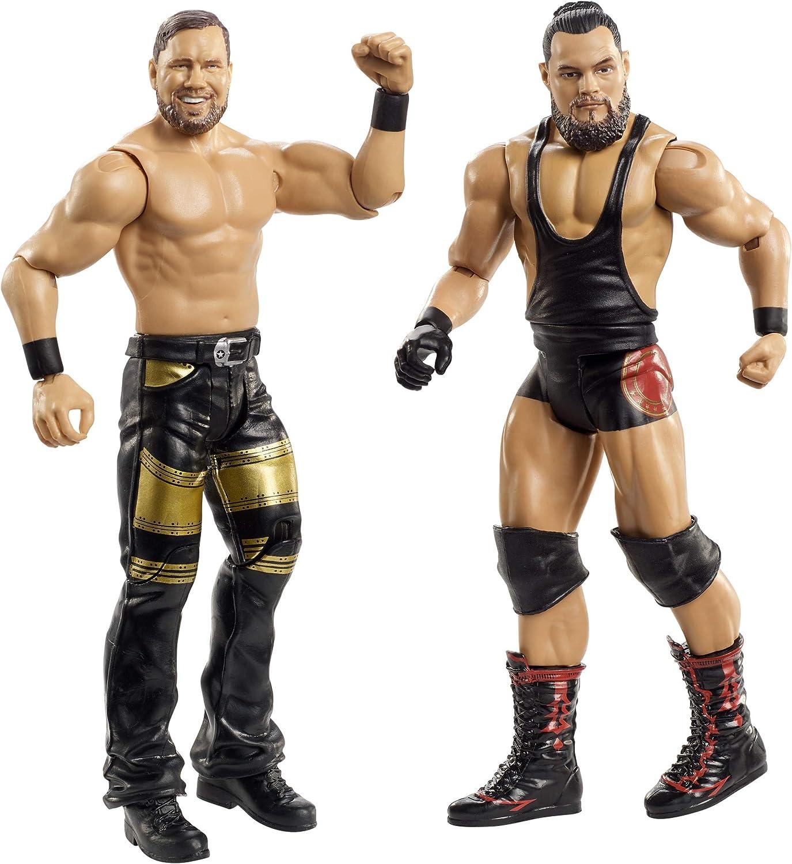 WWE- Pack de 2 Figuras de acción, Bo Dallas y Curtis Axel (Mattel GBN50), Multicolor: Amazon.es: Juguetes y juegos