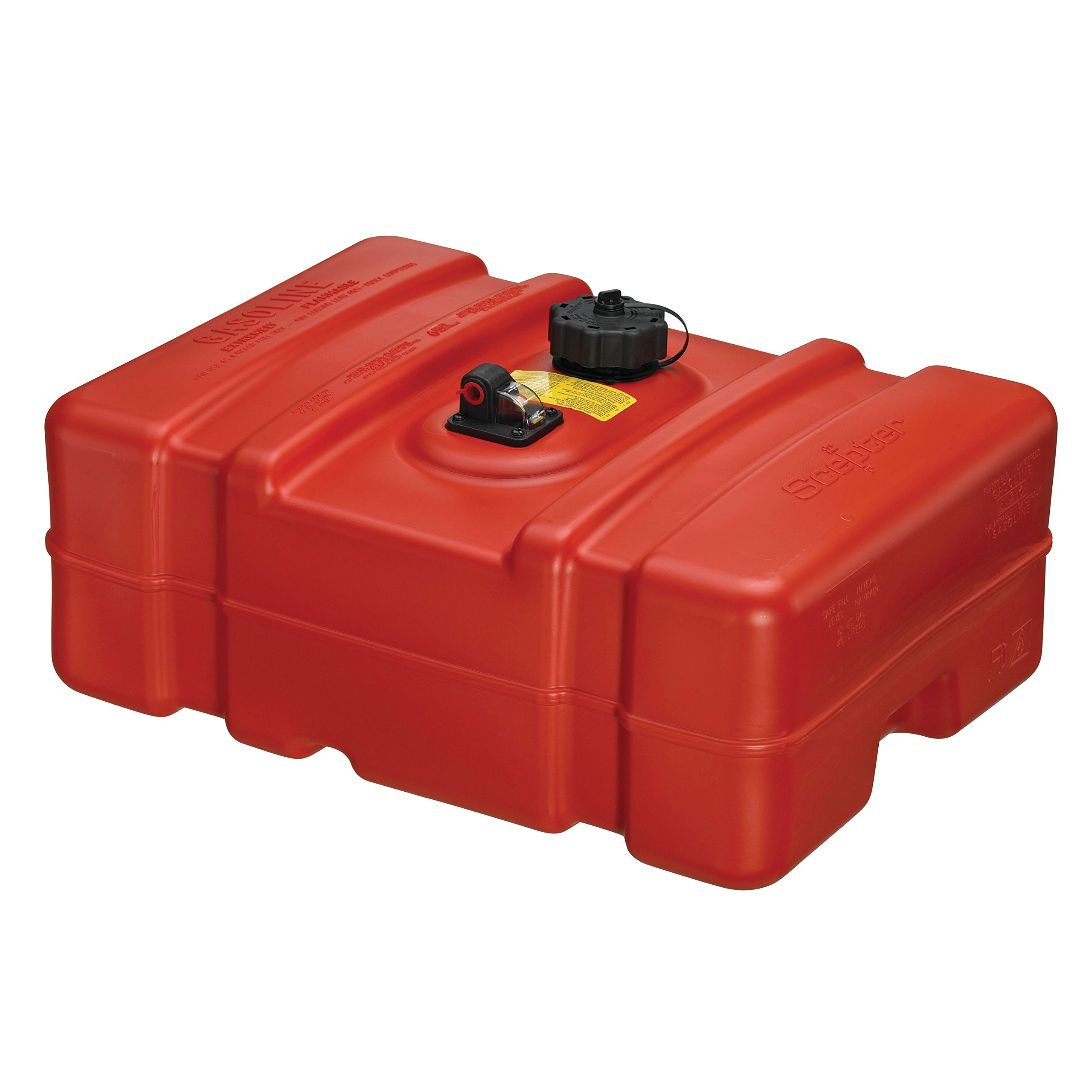 Moeller Scepter 08669 Rectangular Fuel Tank - 12 Gallon Low Profile