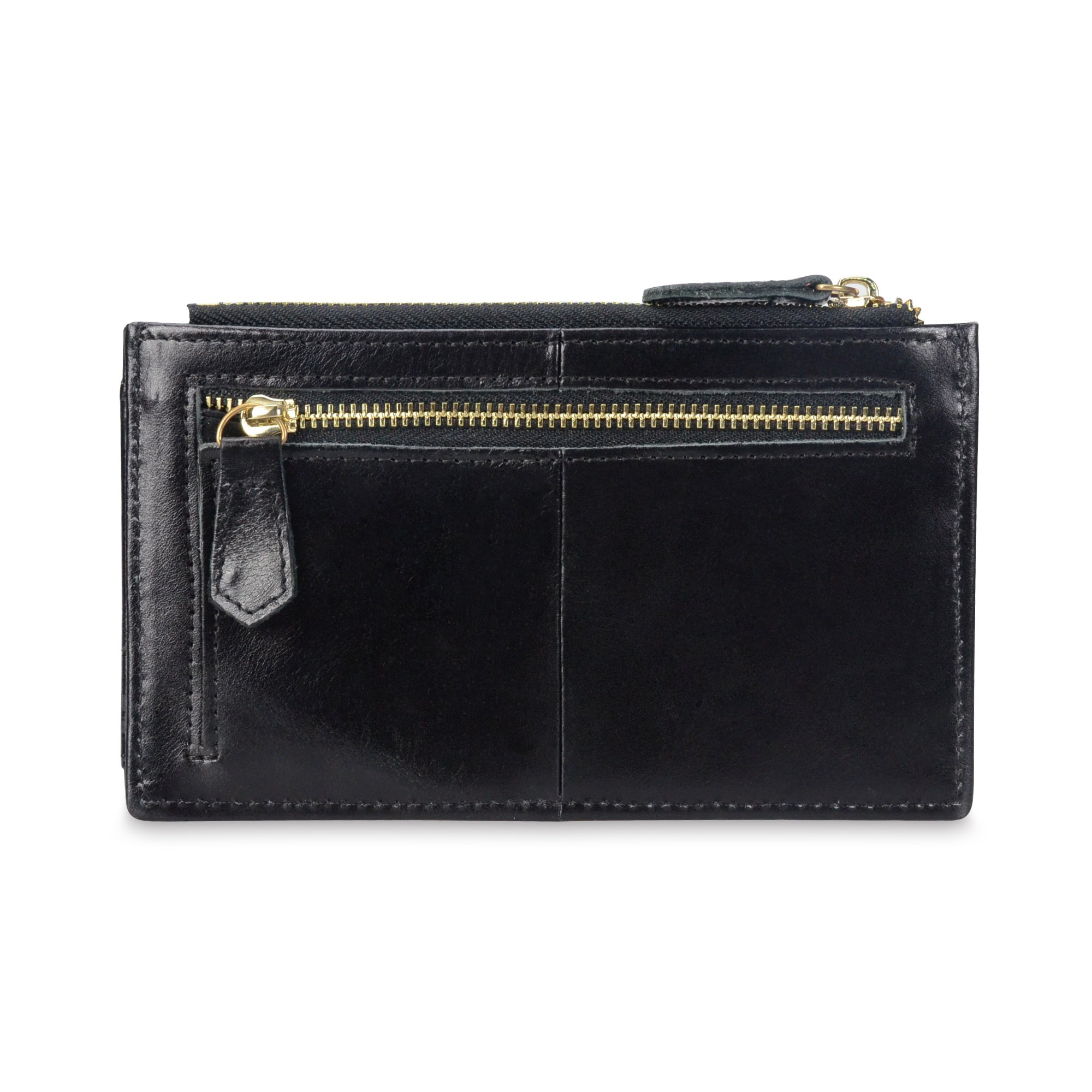 Onstro RFID Blocking Wallets for Women Genuine Leather Multi Credit Card Organizer with ID window by Onstro (Image #3)