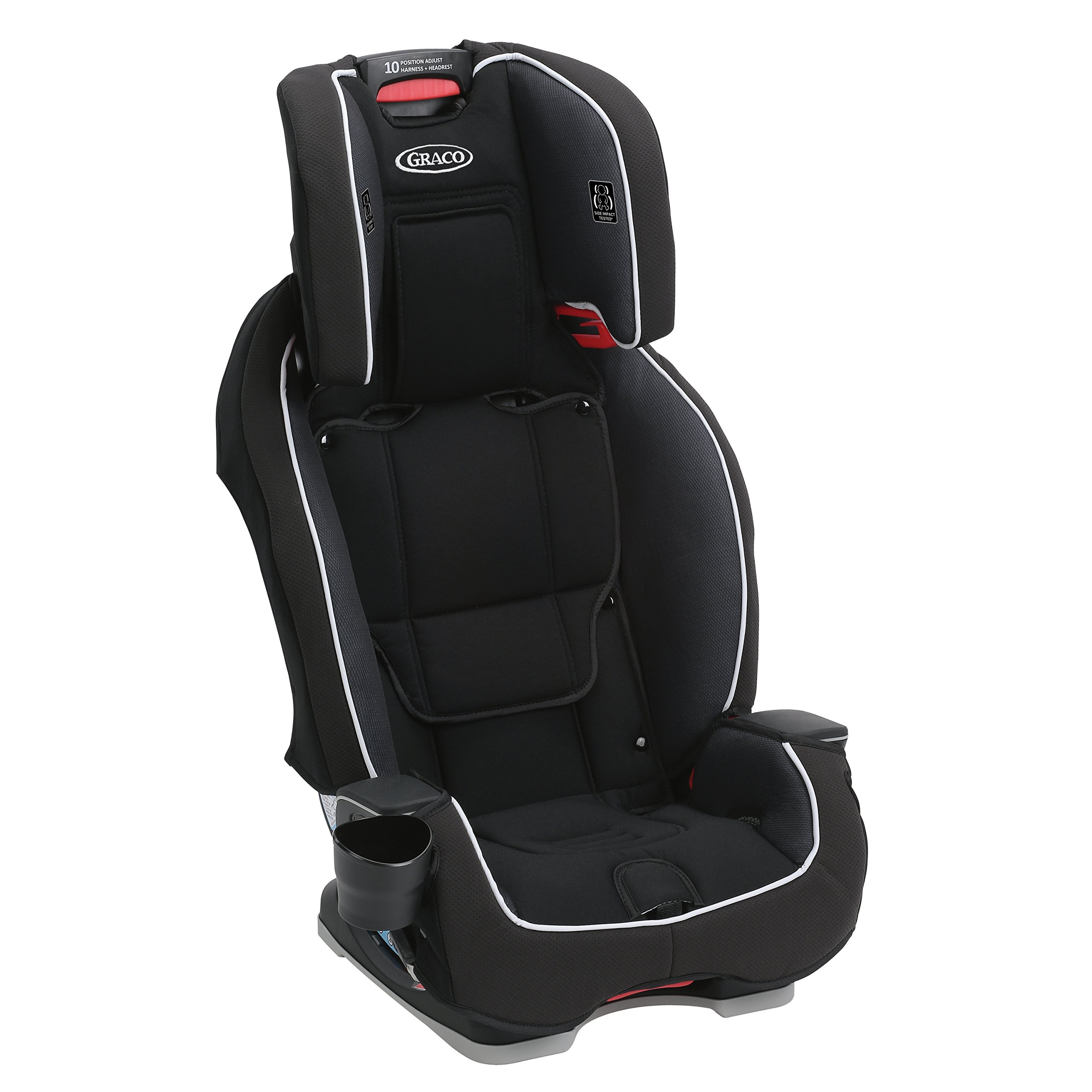 Graco Milestone All-in-1 Convertible Car Seat, Gotham by Graco (Image #5)