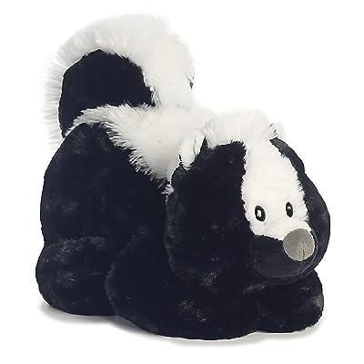 Aurora 16855 World Tushies Animals/Stinky Plush, White, Black: Toys & Games