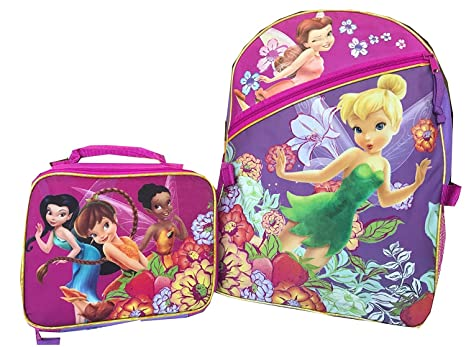 60e59d79906 Image Unavailable. Image not available for. Color  Disney Tinkerbell  Fairies Backpack ...