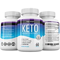 1 Keto Advanced Shark Tank - BHB Supplement for Ketosis Support - 60 Capsulas - 1 Mes de tratamiento