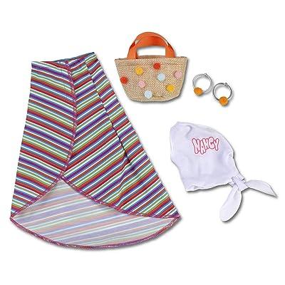 Nancy Un Día de Streetstyle, Pareo, Blusa y Bolso para la muñeca, Famosa 700014790: Juguetes y juegos