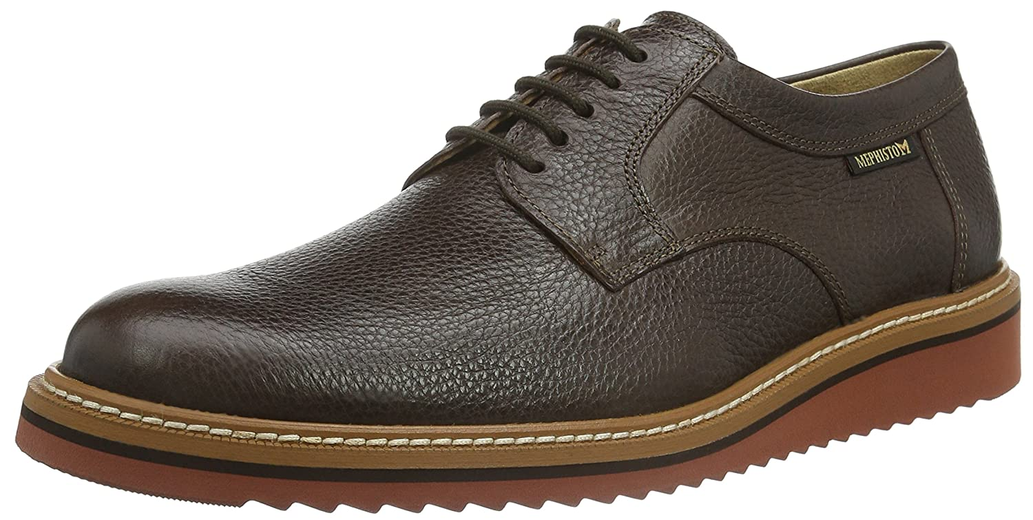 1ed1a8c6f1 Mephisto Enzo Granit 551, Men's Lace-Up, Braun (DARK BROWN), 7 UK ...