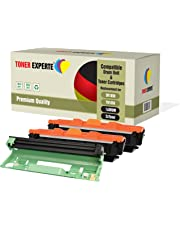 3-Pack TONER EXPERTE® Compatible with DR1050 TN1050 Drum Unit & 2 Toner Cartridges for Brother DCP-1510 DCP-1512 DCP-1610W DCP-1612W HL-1110 HL-1112 HL-1210W HL-1212W MFC-1810 MFC-1910W