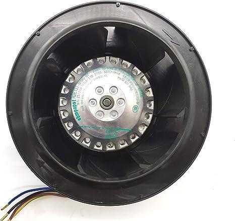 ebmpapst R2E133-BH66-05 230V 50//60Hz 0.11//0.13A 24//27W 1uF 400VDB IP44 AC Fan