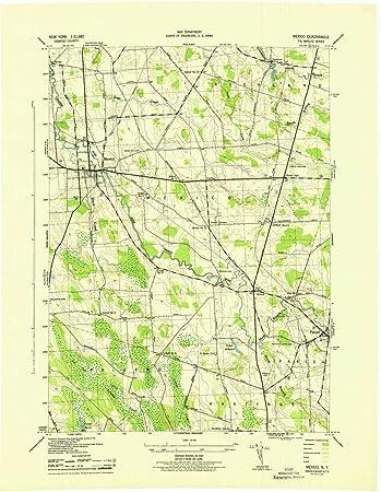 Amazon Com Yellowmaps Mexico Ny Topo Map 1 31680 Scale 7 5 X 7 5
