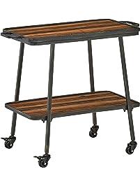 Bar Amp Serving Carts Amazon Com