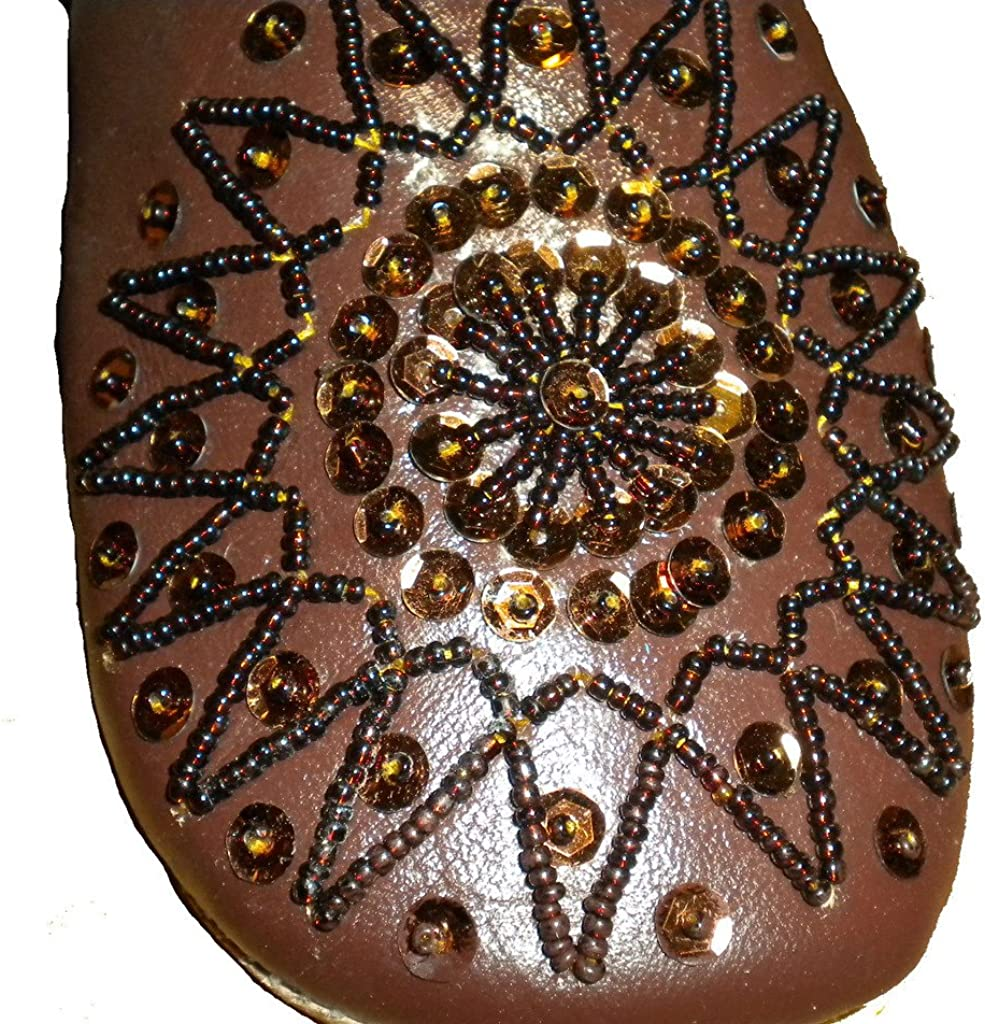 Commerce /équitable Mesdames marocaine traditionnelle Babouche Chaussons