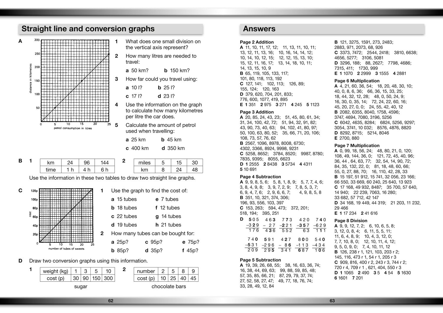 Maths Book 4 (Collins Practice in the Basic Skills): HarperCollins ...